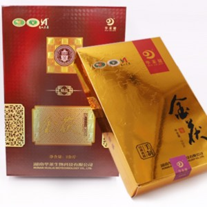 N sets gouden fuzhuan donkere thee hunan anhua donkere thee gezondheidszorg thee